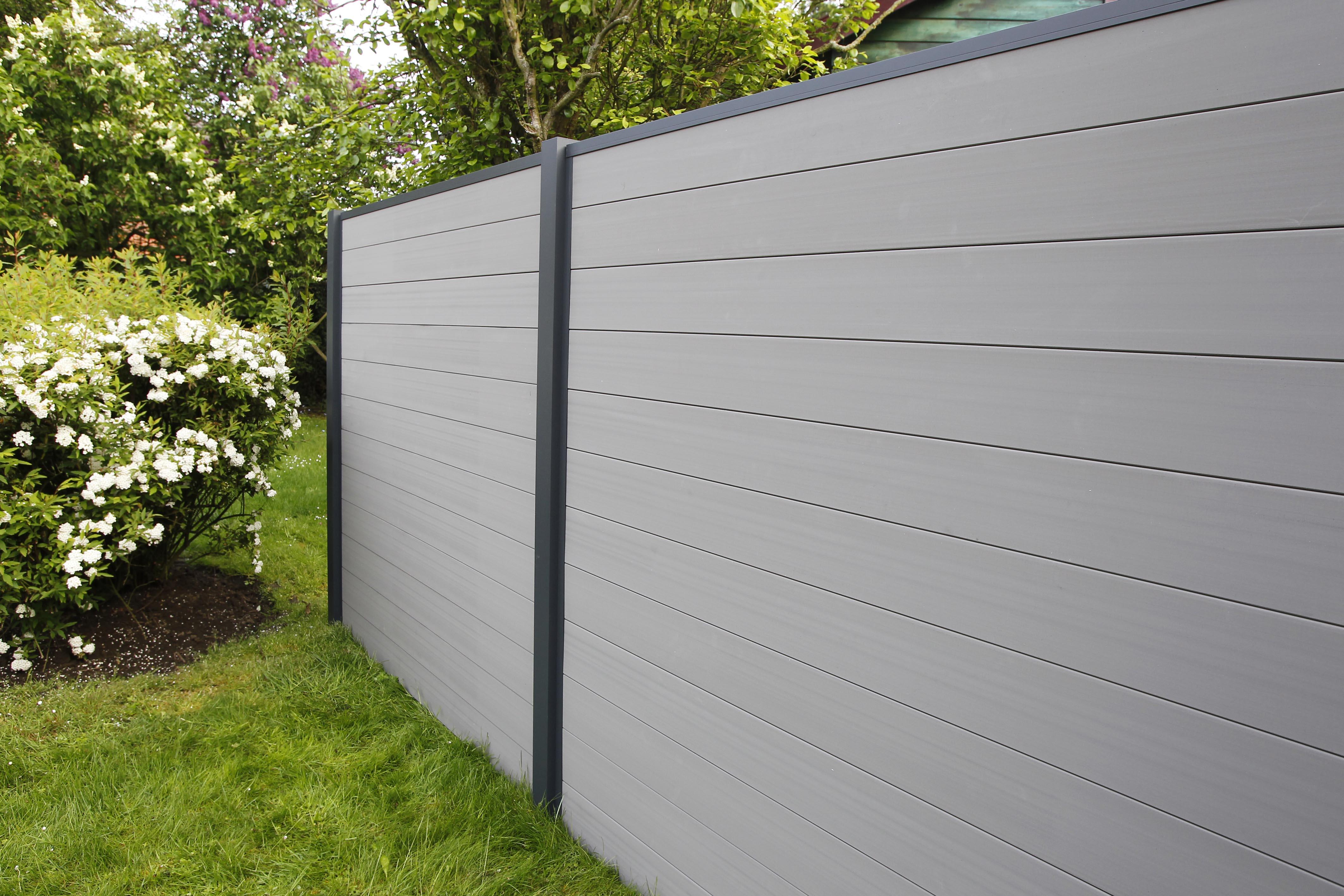 fiberdeck nouvelle palissade pacific aluminium et pvc. Black Bedroom Furniture Sets. Home Design Ideas