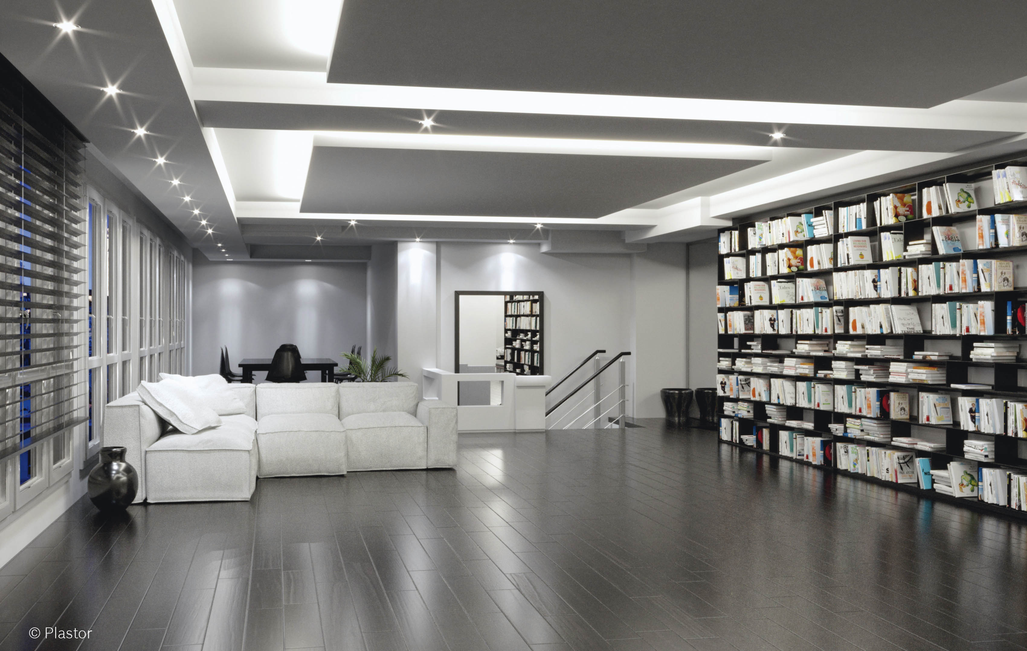 Plastor innovation nouvelle gamme colour floors for Salon avec parquet gris