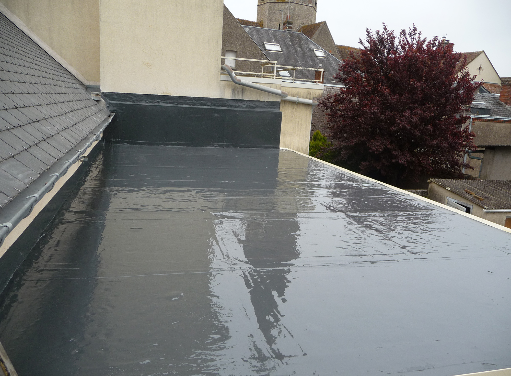 Kempertherm iso s e l la premi re solution d tanch it for Goudron pour terrasse