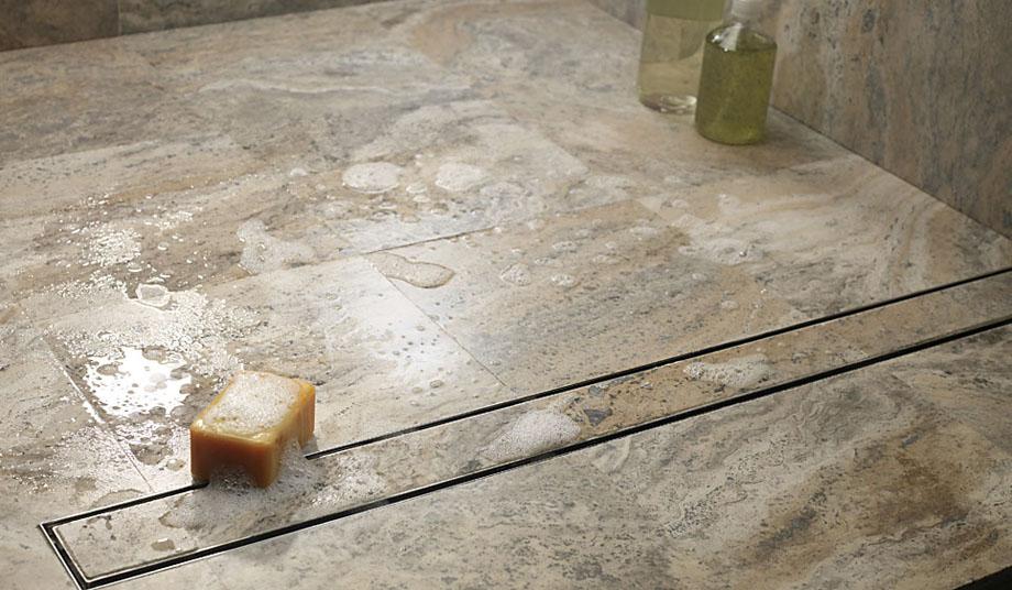 les caniveaux et siphons aco showerdrain deviennent invisibles batipresse. Black Bedroom Furniture Sets. Home Design Ideas