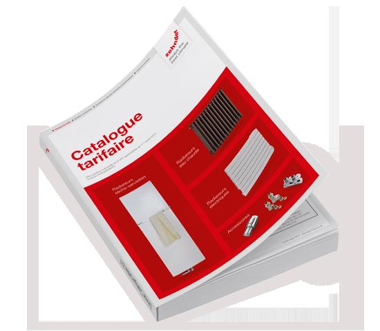 Nouveau catalogue tarifaire 2017 : toute l'offre de radiateurs décoratifs Zehnder pour les professionnels du chauffage