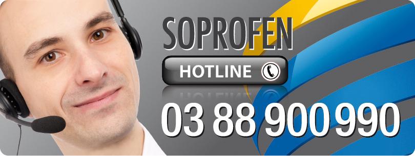 Grâce à l'assistance technique SOPROFEN, sa hotline et son nouveau service vidéo en ligne, les professionnels ont toujours une solution !