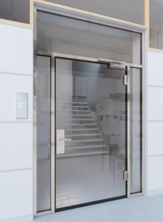 Nouvelles portes Promat-Ganzglastür 30