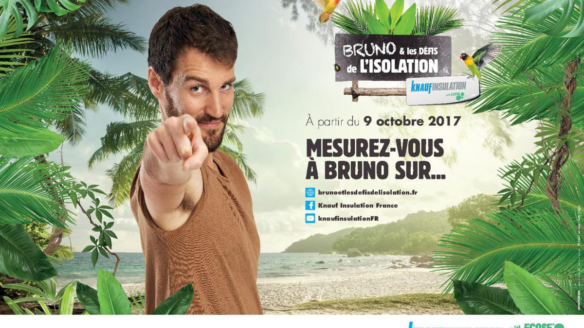 Knauf Insulation lance une campagne de communication digitale : Bruno & les défis de l'isolation