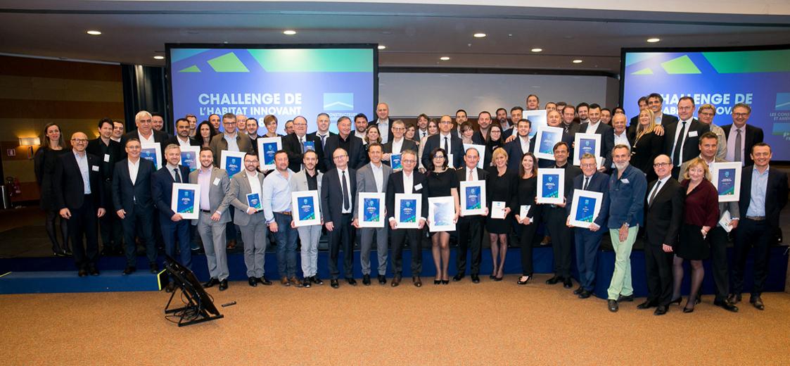 Knauf Insulation figure parmi les grands vainqueurs du Challenge de l'Habitat innovant 2018