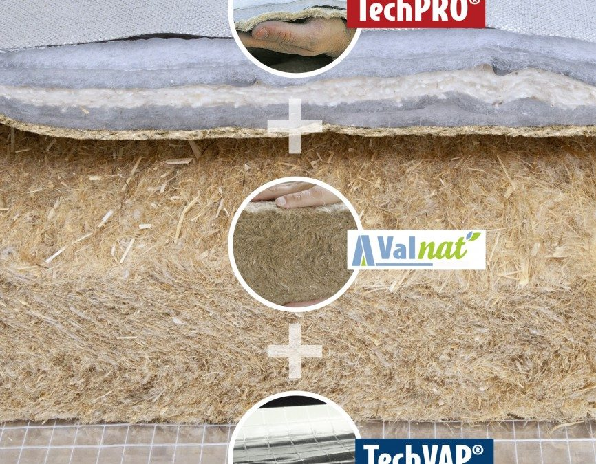 Valtech – La solution d'isolation toiture MIX GPE gagne en performance : R= 6.67 m²K/W