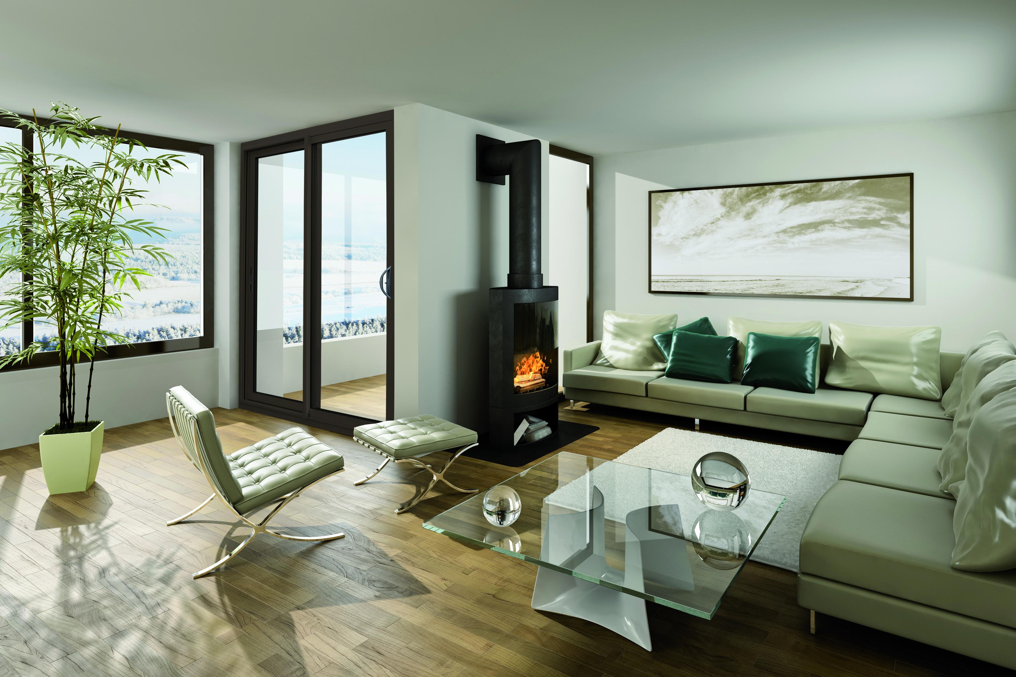 La fenêtre LUMYS au design exclusif et aux finitions soignées offre un clair de jour optimal.
