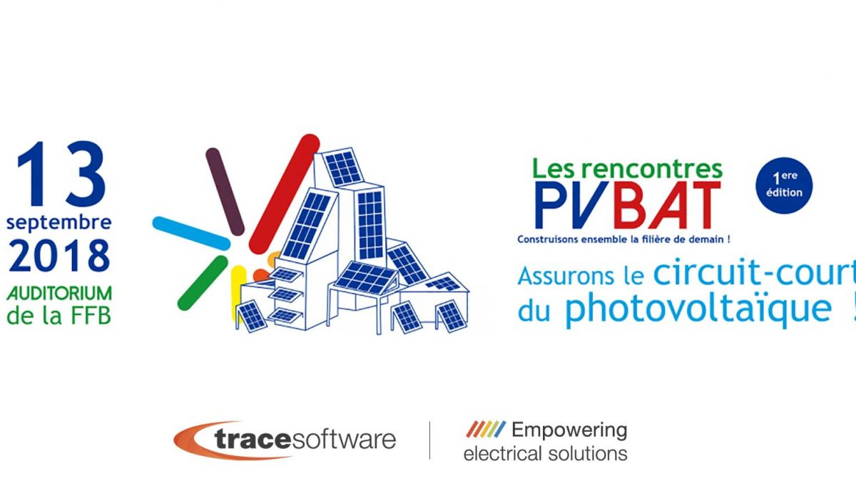 Trace Software International partenaire des «Rencontres PVBAT»