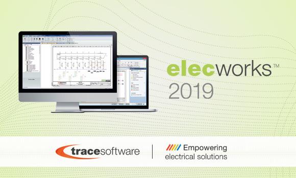 Trace Software International lance elecworks™ 2019, la dernière version de son logiciel de schématique électrique.