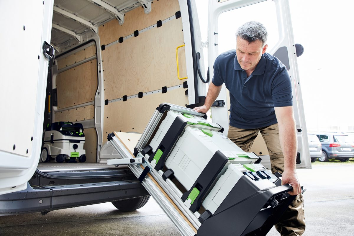 Photo de l'atelier mobile MW 1 000 - Festool