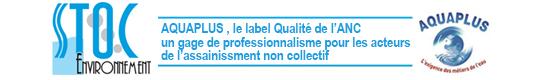 Label AQUAPLUS décerné à STOC Environnement