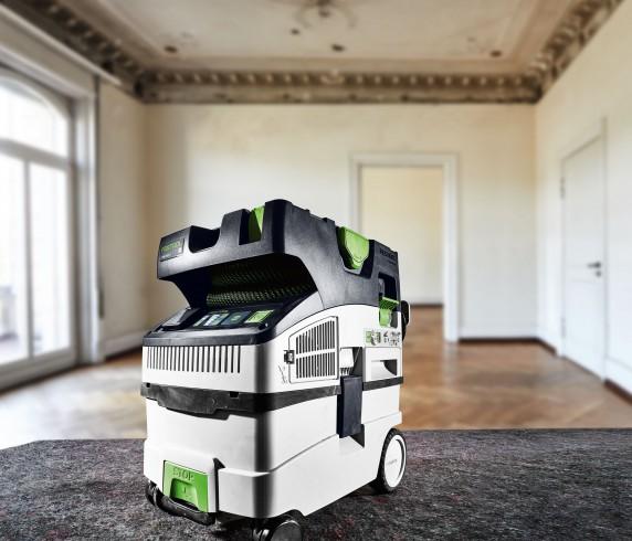 Nouveaux aspirateurs CT MINI et CT MIDI : des outils mobiles et connectés, parfaits pour les déplacements sur les chantiers