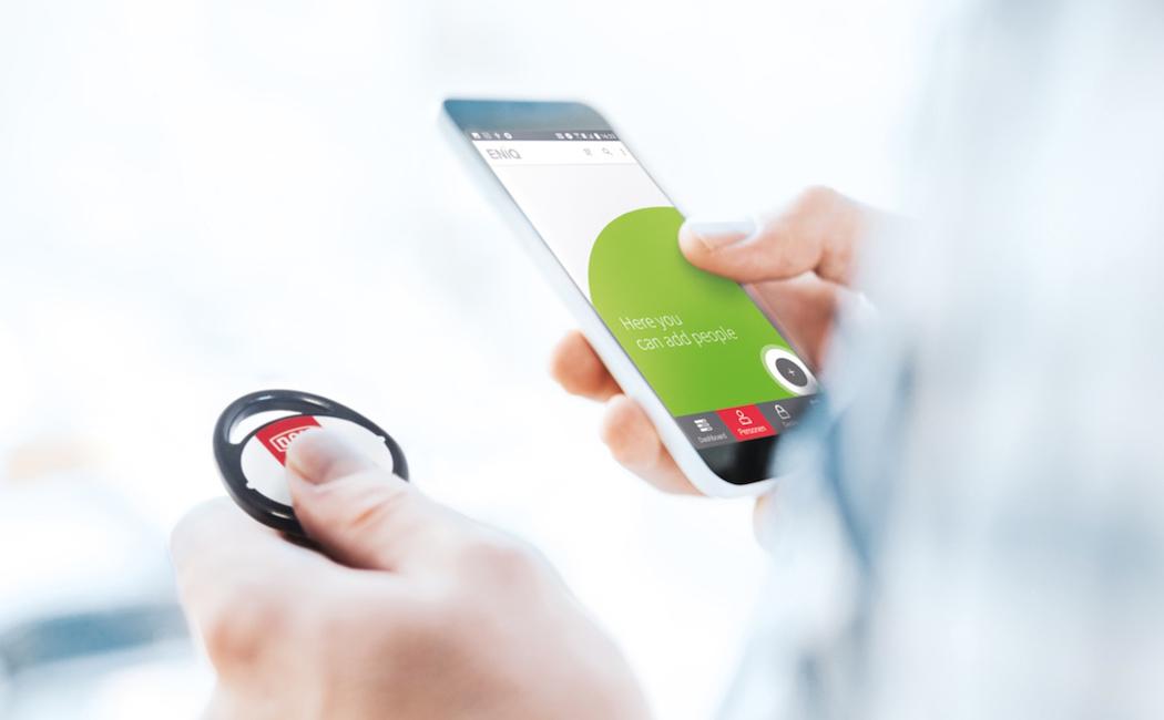 DOM-Metalux lance ENIQ App : une application mobile pour gérer son système de contrôle d'accès électronique
