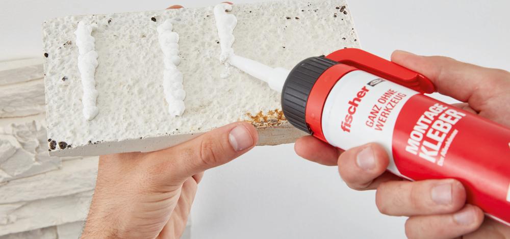 Nouvelle gamme de fixation fischer «Vos mains sont vos outils»