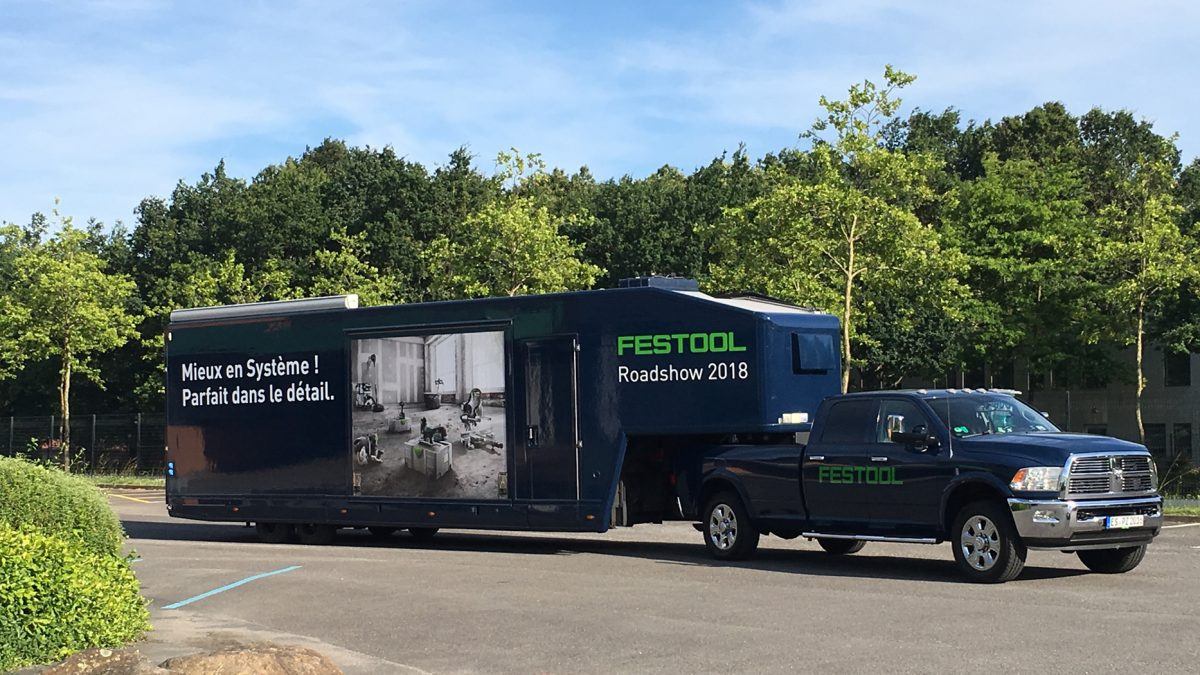 Le Festool Tour reprend la route !