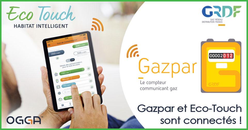 Compteur Gazpar : OGGA, 1er partenaire de GRDF à expérimenter les remontées de données des clients