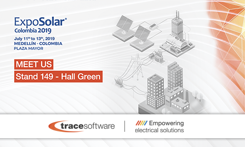 TRACE SOFTWARE PARTICIPE AU SALON EXPOSOLAR EN COLOMBIE