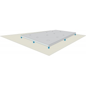 Comment réaliser un plancher en dalles flottantes ?