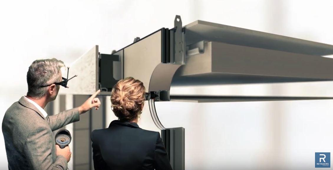 Reynaers Aluminium nous plonge dans la réalité augmentée et le numérique