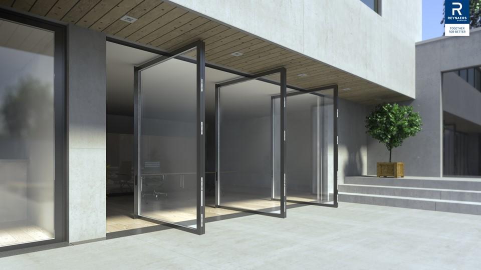 MasterLine 8 porte pivotante : une nouvelle génération de porte