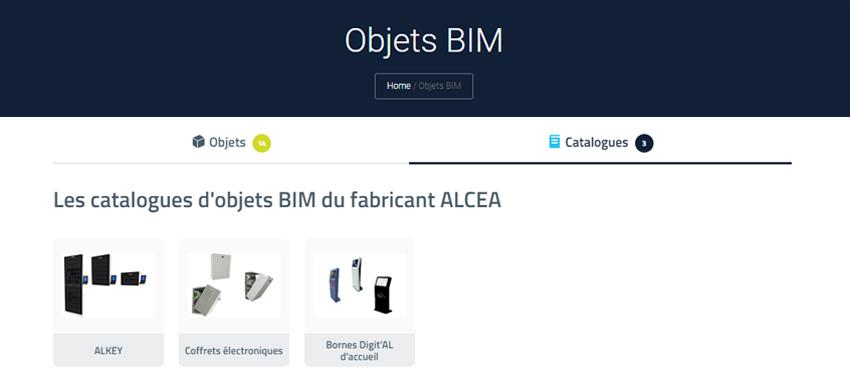 ALCEA a choisi BIM&CO pour la création et la diffusion de ses objets BIM