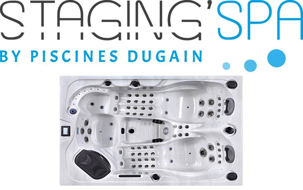 STAGING'SPA : la nouvelle collection de spas de chez Dugain