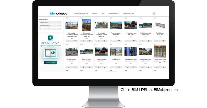 LIPPI fait confiance à BIMobject et à Polantis pour le développement et la publication de ses objets BIM