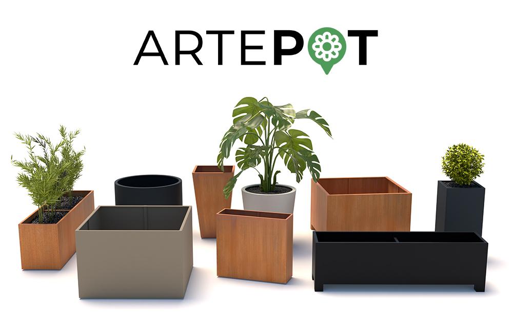 ARTEPOT, fabricant de bacs à fleurs pour professionnels