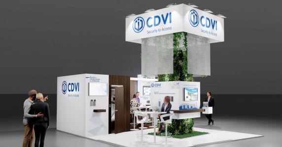 CDVI : une expertise démontrée au salon ExpoProtection Sécurité.