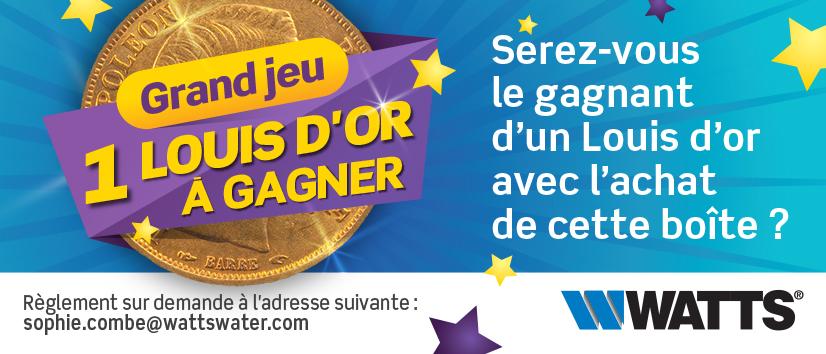 """visuel jeu concours """"1 Louis d'or à gagner"""""""