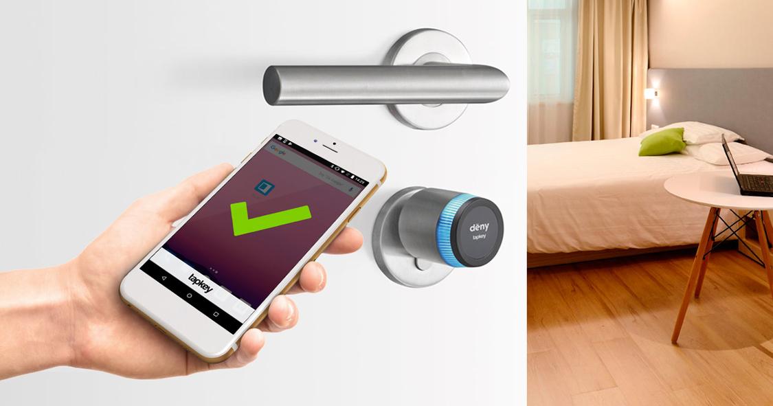 DENY SECURITY présente DENY Tapkey, un système complet de contrôle d'accès par smartphone