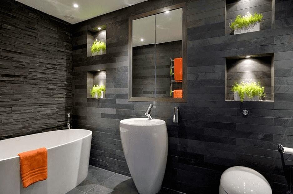 Décoration de la salle de bain: Styles et couleurs populaires