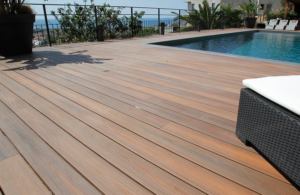 Poser une terrasse bois composite facilement