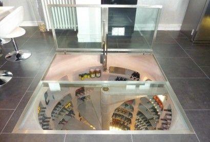 La construction d'un espace de conservation pour le vin