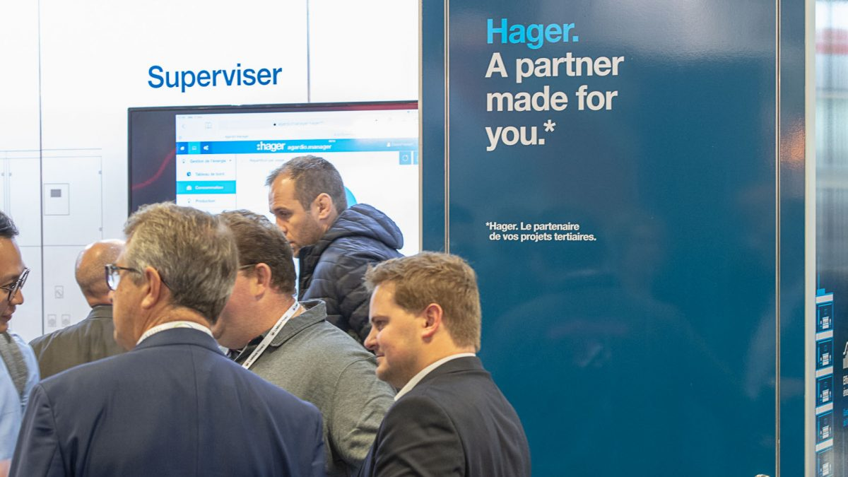 Salon IBS 2019 Hager enrichit son offre pour le smart building