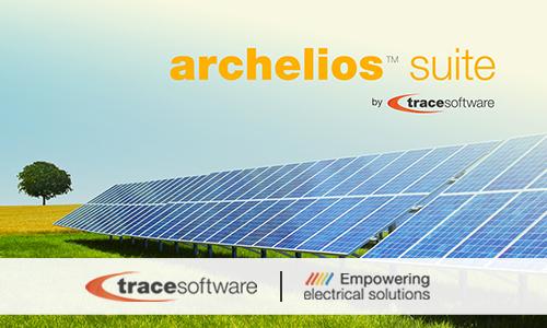 Trace Software annonce la disponibilité de la dernière version des logiciels archelios™ Pro et archelios™ Calc