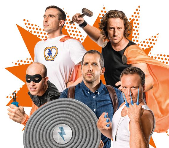 Du 13 janvier au 21 mars 2020 Hager dévoile son Evénement National :  Le rendez-vous des « Super-Héros »