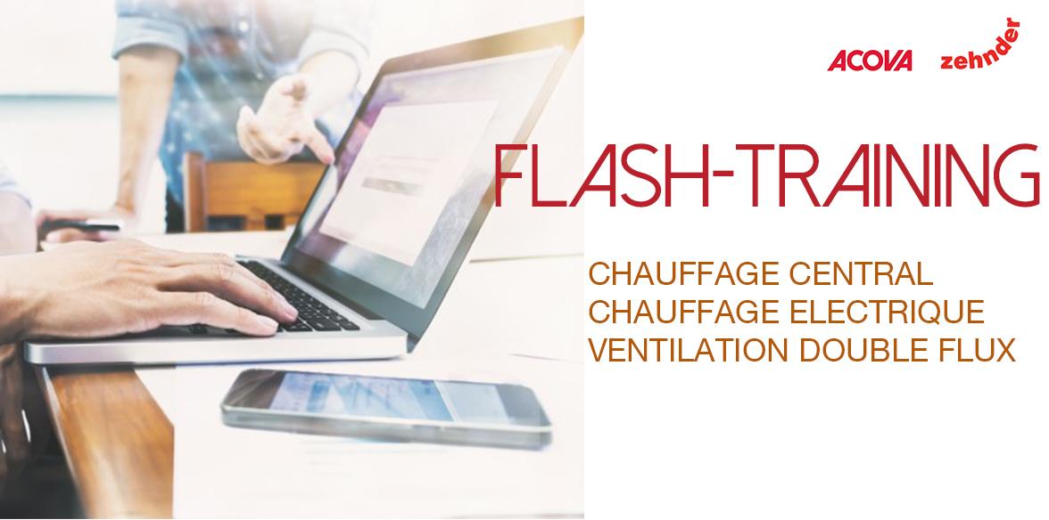Flash Training du Campus Zehnder : des formations gratuites en ligne pour perfectionner les connaissances des professionnels