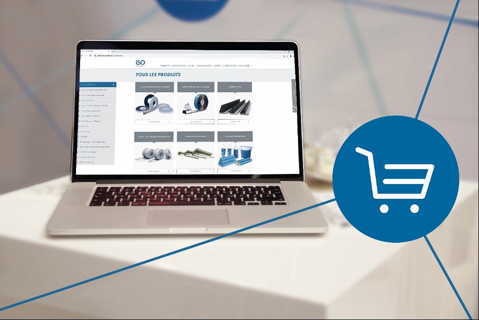 ISO-CHEMIE ouvre un webshop