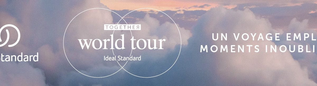 Together World Tour Ideal Standard : un voyage empli de moments inoubliables